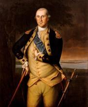 Washington in 1776, artist Charles Willson Peale