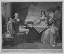 The Washington Family: George Washington, His Lady, and her Two Grandchildren by the Name of Custis